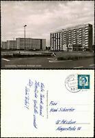 Ansichtskarte Braunschweig Wohnbauten Hochhäuser Hamburger Straße 1965