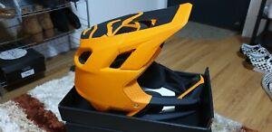 Fox Proframe Full Face MIPS Helmet - Atomic Orange - XL
