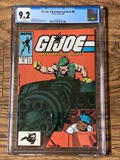 GI Joe, A Real American Hero #89 CGC 9.2 Wht Pgs Marvel Comics 1989