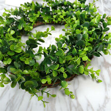 Wreath Artificial Plants Eucalyptus Leaves Garland Wedding Home Art Decor