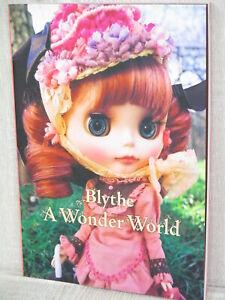 BLYTHE Photo Book WONDER WORLD Art OOAK Doll Book Japan CWC 2008