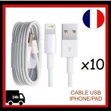 x10 Câble USB  Chargeur pour IPhone 5,5S, 5C, 6/6plus,6S/6S Plus,7, 7Plus, IPad