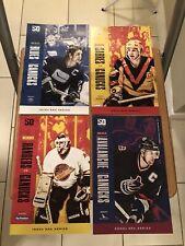 19-20 VANCOUVER CANUCKS 50TH ANNIVERSARY ERA SERIES GAME DAY PROGRAM LOT!! NHL!!