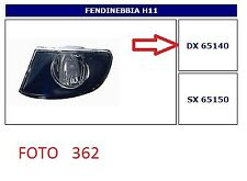 65140 FARO FENDINEBBIA (FOG LAMPS) DX BMW S.3 E91 TOURING 09/2005->