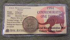 "#C14. AUSTRALIAN UNC.  $1 -  1994 DOLLAR DECADE  ""C"" MINT, VISITOR GALLERY"