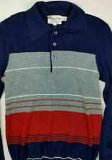 Vintage 1960's British ROYAL KNIGHT - Collar Sweater Mens Sm/M - Youth Lg