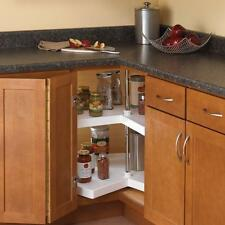 Kitchen Storage Lazy Susan Corner Cabinet Organizer 2 Shelf Shelves Hardware Kit