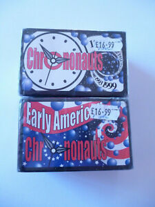 Lot x 2 Chrononauts Time Travel Card Games: Original + Early American