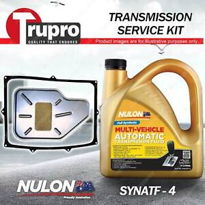 SYNATF Transmission Oil + Filter Kit for Ssangyong Actyon C Q 100 Musso Rexton
