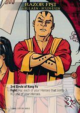RAZOR FIST Upper Deck Marvel Legendary VILLAIN K'UN LUN