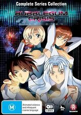 Bubblegum Crisis - Tokyo 2040 Complete Collection NEW R4 DVD
