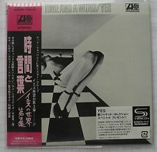 Yes-time and a Word + 4 GIAPPONE SHM MINI LP CD NUOVO! WPCR - 13513