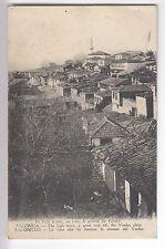 CPA  EUROPE GRECE  -  SALONIQUE LA VILLE HAUTE LA PLAINE DU VARDAR 1918 ~B74