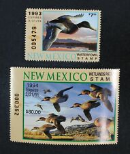 CKStamps: US State Duck Stamps Collection New Mexico (2) Mint NH