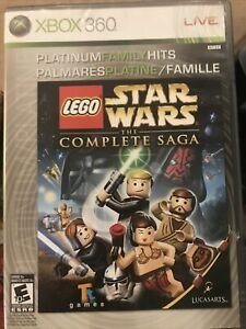 Lego Star Wars The Complete Saga, (Microsoft Xbox 360) Complete
