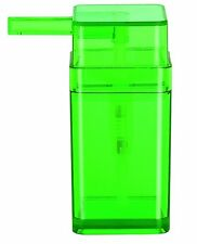 Spirella Cubo Clear Green Grün Seifenspender Swiss Design Green Soap Dispenser