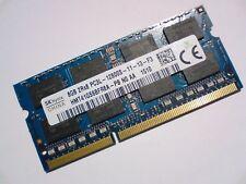 8GB DDR3L-1600 PC3L-12800S HYNIX HMT41GS6BFR8A-PB 1600 Mhz LAPTOP RAM MEMORY