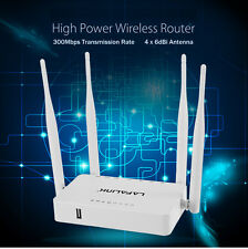 OpenWrt 300Mbps Wireless Router Wifi Extender USB Share Home Networking Repeater