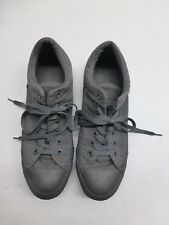 All Star Converse Unisex MEN 10 WO'S 12 EUR 44 Gray Textile Shoes Great Conditon
