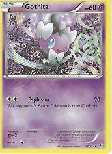 POKEMON XY FATES COLLIDE CARD - GOTHITA 32/124
