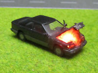 1:87 Mercedes 300E Coupe C124 H0 Motorbrand LED 12V Feuer Laser Cut Patina #16