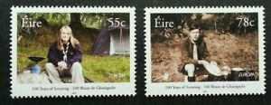 [SJ] Ireland 100 Years Of Scouting 2007 Scout Uniform Camping (stamp) MNH