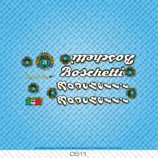 Boschetti Rino Bicycle Decals - Transfers - Stickers - Set 511
