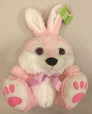 "NWT! Kellytoy~Bunny Rabbit Stuffed Animal Plush Toy~Looky Boos Eyes~10""~Lovey"