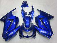 Blue Body Work Fairings Kit Fit For Kawasaki EX250 Ninja 250R 2008-2012 08 09 10