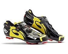 SIDI Drako Carbon SRS MTB Shoes - Black/Yellow Fluo