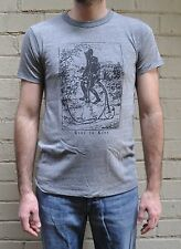 Marc By Marc Jacobs Ride to Live Skull Biker Heathered Grey T-Shirt Large NWOT