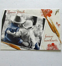 Leanin Tree Anniversary Greeting Card Western Kids Love Multi Color Fathers R1