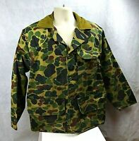 VTG SafTbak Heavy Duty Duck Camo Padded Shoulder Shooting Hunting Jacket Size 2X