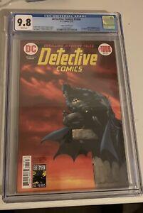 Derective Comics 1000 cgc 9.8 Wrightson Variant