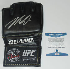 NICK DIAZ SIGNED AUTO'D UFC OUANO GLOVE BAS BECKETT COA STIKEFORCE ELITE XC 209