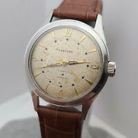 Vintage SANFORD by A.HIRSCH Co Men's manual winding watch ETA 2390 swiss 1950s