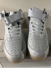 Annabelz Men Light Up Mid-Top Led Sneakers, White Size: 7 New In Box