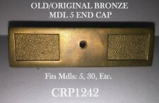 Solid Bronze Brass National Rare Early Mdl 5 Candy Store Cash Register End Cap