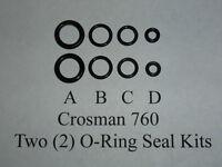 Crosman Crossman 760 Rifle Pre July 1977 (2) Two O-Ring Seal Kits