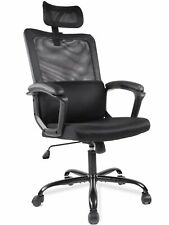 Ergonomic Black Mesh High Back Office Chair
