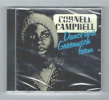 cd : CORNELL CAMPBELL-dance in a greenwich farm    (new & sealed)   reggae roots