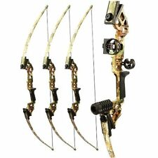 Tophunt Bowfishing Adult Compound Archery Bow Complete Set Right Hand 40 lbs