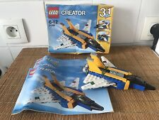 LEGO CREATOR 31042 - Jeu de Construction - L' Avion à Réaction