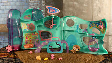 Littlest Pet Shop Playful Paws Pet Daycare Playset Complete #861 Brown Hedgehog