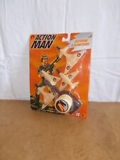 RARE modern ACTION MAN mam - HASBRO - ACTION LAUNCHER - 1995 - MOSC