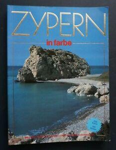 Zypern in Farbe Reiseführer 1987 RAR - sehr gut !!