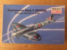 1:144 Minicraft N°14412 SUPERMARINE marque V spitfire. KIT DE MONTAGE