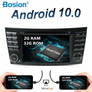 """7"""" Autoradio Android 10 Pour Mercedes Benz E-class W211 E200 E220 E300 E280 CLS"""