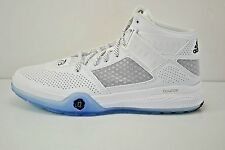 Mens Adidas D Rose 773 IV Basketball Shoes Size 12.5 White Black D69431