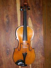 Alte 4/4 Geige mit Zettel - gut klingend